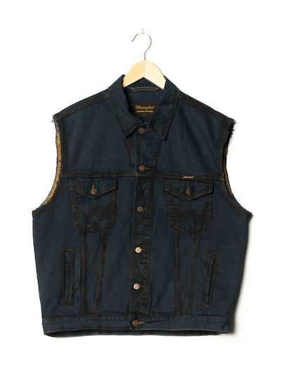 WRANGLER Jeansweste in L in dunkelblau, Produktansicht