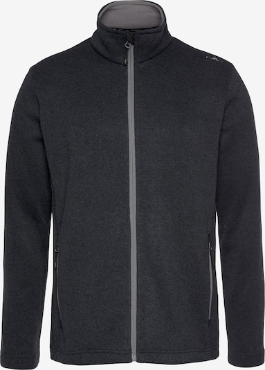 CMP Athletic Fleece Jacket in Anthracite, Item view