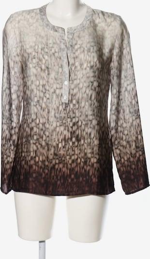 Chelsea Rose NYC Langarm-Bluse in S in braun / wollweiß, Produktansicht