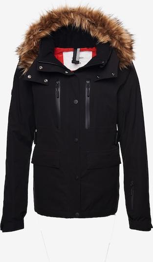 Superdry Winterjas in de kleur Bruin / Zwart, Productweergave
