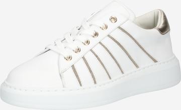 Sneaker low 'CHAIN CORNER' de la STEFFEN SCHRAUT pe alb
