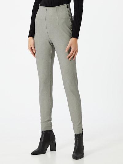 Pantaloni 'Tummy Tuck' Esprit Collection pe negru / alb, Vizualizare model