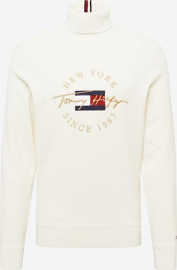 Pullover TOMMY HILFIGER di colore navy / oro / rosso / bianco / offwhite, Visualizzazione prodotti