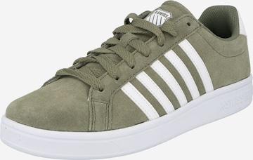 K-SWISS Sneaker 'Court Tiebreak Sde' in Grün