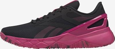Reebok Sport Schuh in dunkelpink / schwarz, Produktansicht