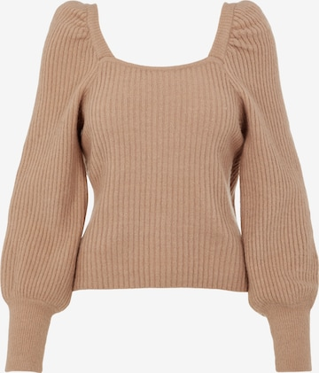 Y.A.S Pullover 'Dura' in Beige