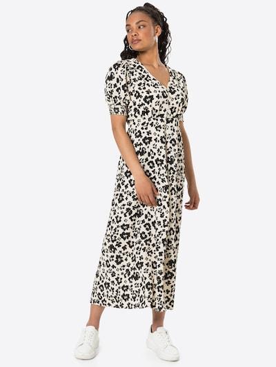 Rochie tip bluză 'TIA' River Island pe bej / negru, Vizualizare model