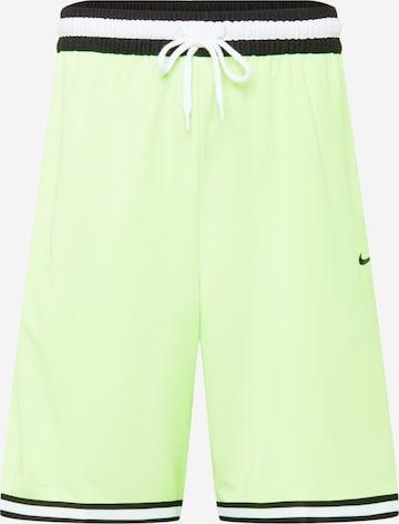 NIKE Spordipüksid, värv roheline