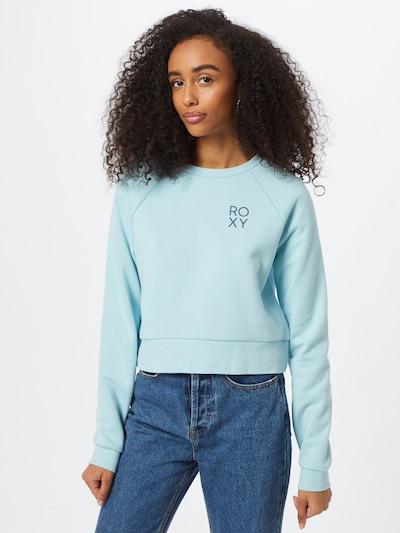 ROXY Sportsweatshirt 'UNDERGROUND RADIO' in hellblau: Frontalansicht