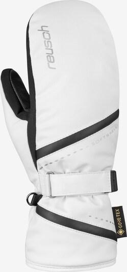REUSCH Fäustlinge 'Alexa GTX Mitten' in schwarz / weiß, Produktansicht