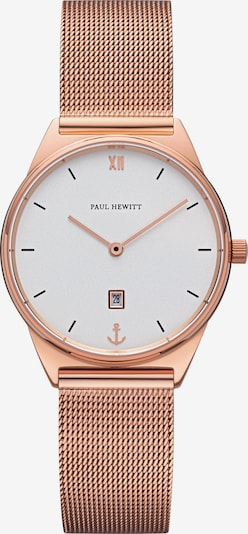 Paul Hewitt Uhr in rosegold / weiß, Produktansicht
