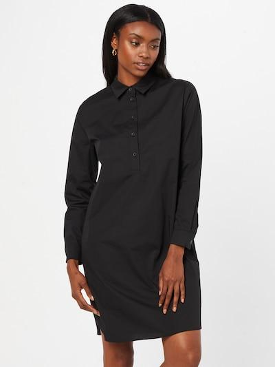 EDC BY ESPRIT Košilové šaty - černá, Model/ka