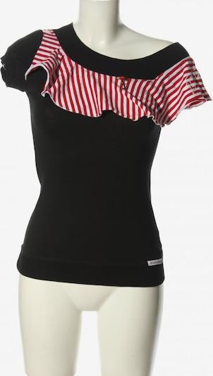 Blutsschwester T-Shirt in XS in rot / schwarz / weiß, Produktansicht