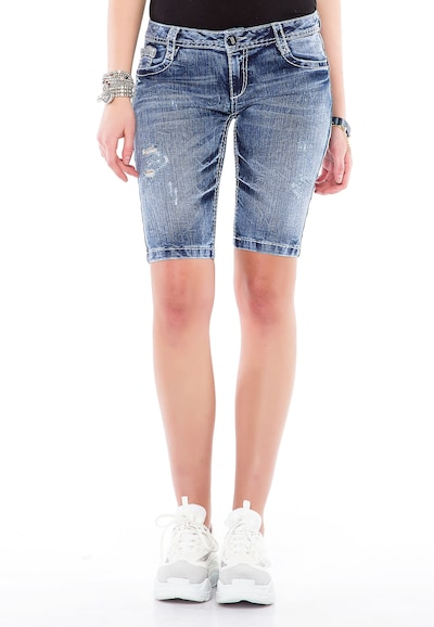 CIPO & BAXX Jeans in Blue, View model