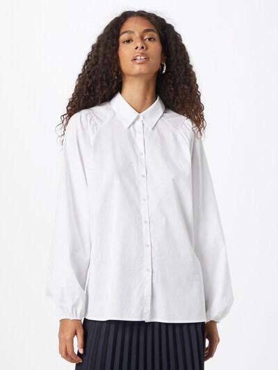 Soyaconcept Bluse 'TOKYO' in weiß, Modelansicht