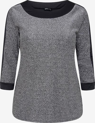 SPGWOMAN Rundhalsshirt in silber, Produktansicht