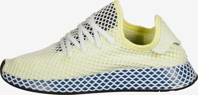 ADIDAS ORIGINALS Sneaker ' Deerupt Runner ' in navy / hellgelb / schwarz / weiß: Frontalansicht