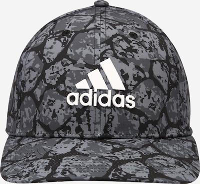 adidas Golf Sportcap in grau / dunkelgrau / schwarz / weiß, Produktansicht