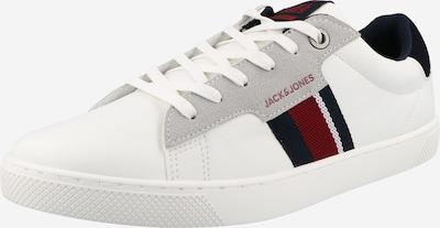 Sneaker low JACK & JONES pe bleumarin / gri / roşu închis / alb, Vizualizare produs