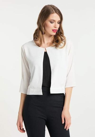 faina Blazer in weiß, Modelansicht