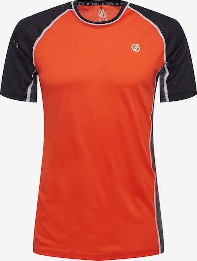 Tricou funcțional 'Conflux' DARE2B pe gri închis / portocaliu închis / negru, Vizualizare produs