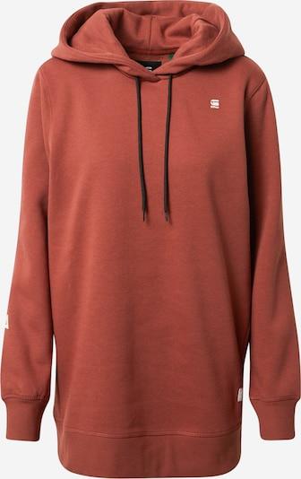 G-Star RAW Sweatshirt in dunkelrot, Produktansicht