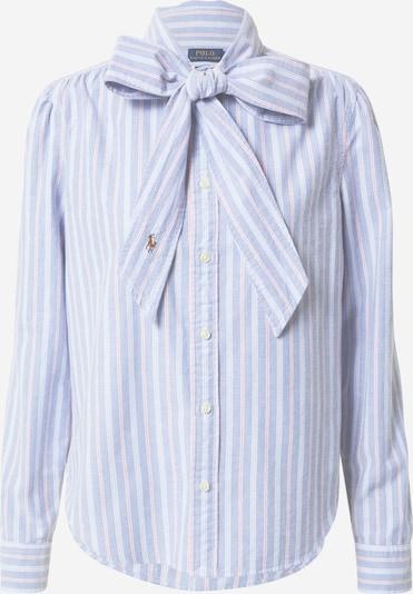 POLO RALPH LAUREN Blouse in de kleur Blauw / Pink / Wit, Productweergave