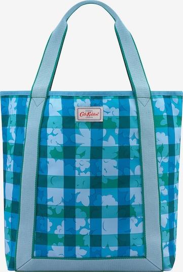 Cath Kidston Shopper in nachtblau / himmelblau / grau / grün / jade, Produktansicht
