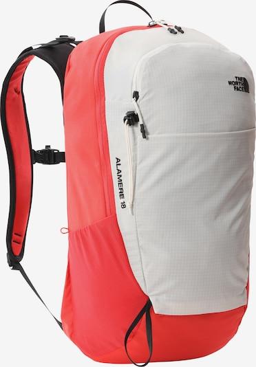 THE NORTH FACE Sportrucksack 'Basin 18' in rot / schwarz / weiß, Produktansicht