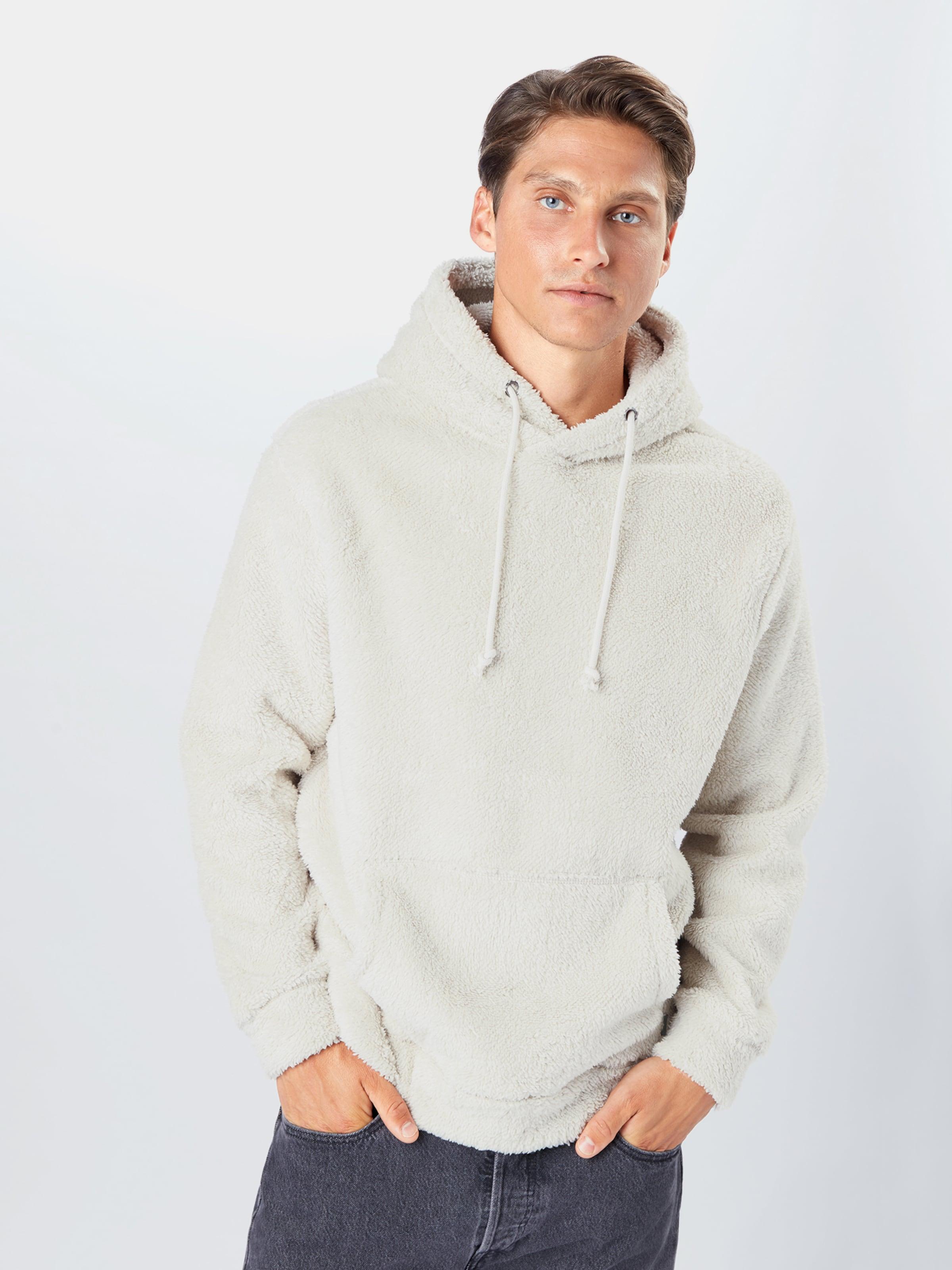 !Solid Sweatshirt  'Manas' in weiß Sweatstoff SLD0498001000001