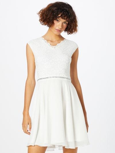 SWING Cocktailkleid en blanc, Vue avec modèle