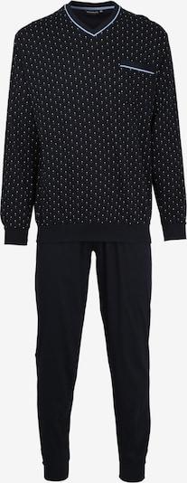 Götzburg Pyjama in schwarz / weiß, Produktansicht