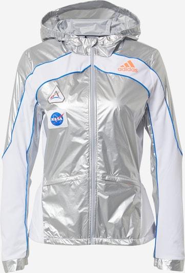 ADIDAS PERFORMANCE Chaqueta deportiva 'Marathon Space Race' en azul / plata / blanco, Vista del producto
