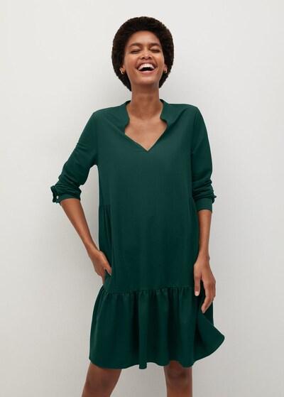 MANGO Kleid in grün, Modelansicht