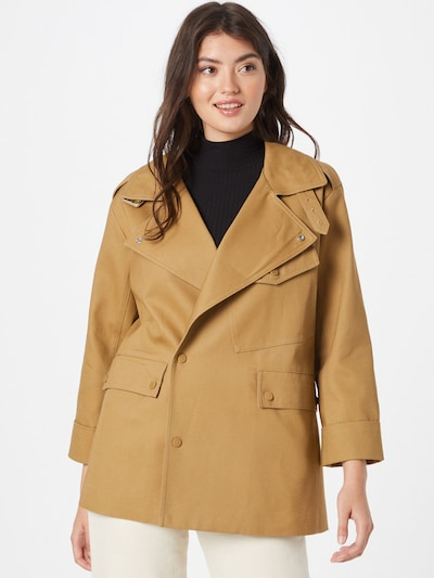 Palton de primăvară-toamnă 'NADINE' Maison 123 pe șamoa, Vizualizare model