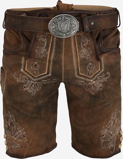 Pantaloni per costume tradizionale 'Paolo' Krüger Madl di colore marrone chiaro, Visualizzazione prodotti