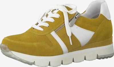 sáfrány / fehér MARCO TOZZI Rövid szárú edzőcipők, Termék nézet