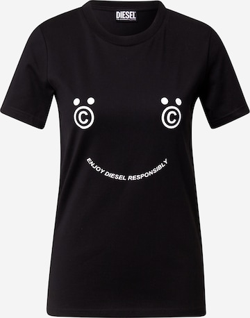 DIESEL Shirt 'SILY' ' in Black