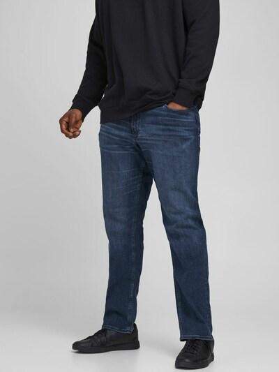 Jack & Jones Plus Džínsy 'JJIGLENN' - tmavomodrá, Model/-ka