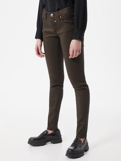 Herrlicher Broek in de kleur Goud / Zwart, Modelweergave
