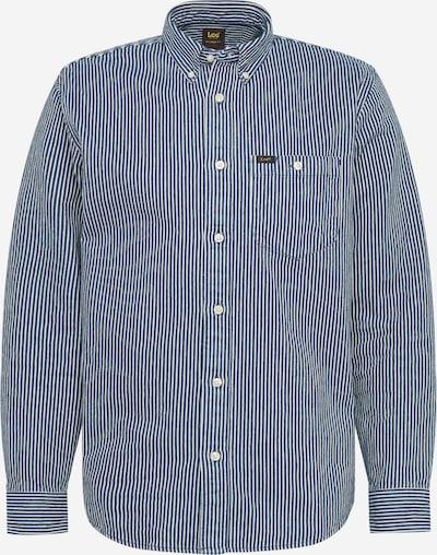 Lee Skjorte 'Riveted' i blue denim / hvid: Frontvisning