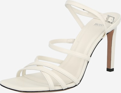 BOSS Casual Strap sandal in White, Item view