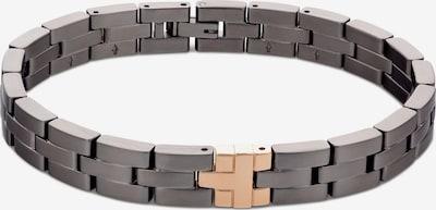 TOMMY HILFIGER Bracelet en or / gris foncé, Vue avec produit
