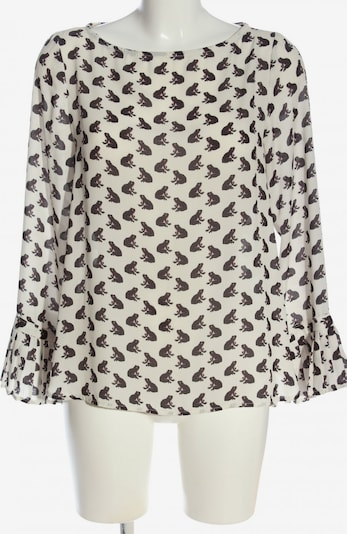 Kaos Hemd-Bluse in M in braun / weiß, Produktansicht