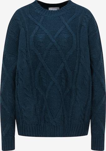 Usha Pullover in Grün