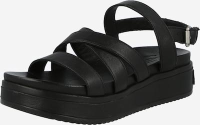 SHABBIES AMSTERDAM Sandali s paščki | črna barva, Prikaz izdelka