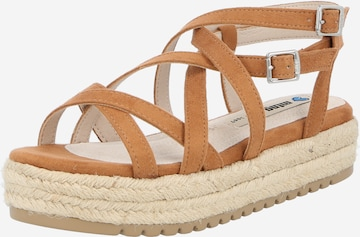 MTNG Sandale 'AMELIE' in Braun