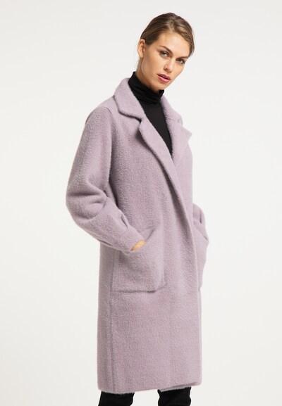 usha BLACK LABEL Between-Seasons Coat in Powder, View model