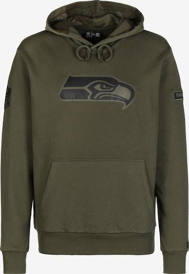 NEW ERA NFL Seattle Seahawks Camo Large Print Kapuzenpullover Herren in khaki, Produktansicht