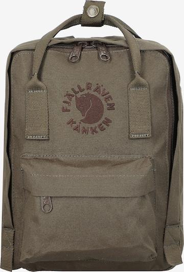 Fjällräven Rucksack 'Re-Kanken' in khaki, Produktansicht